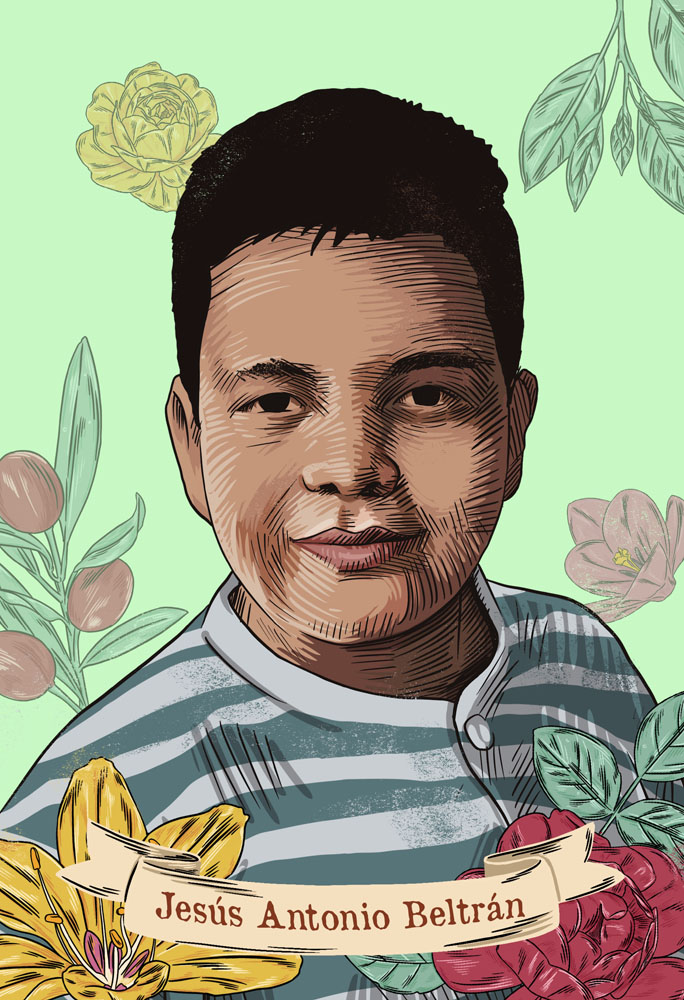Jesus Antonio Beltran Cazares desaparecido niño
