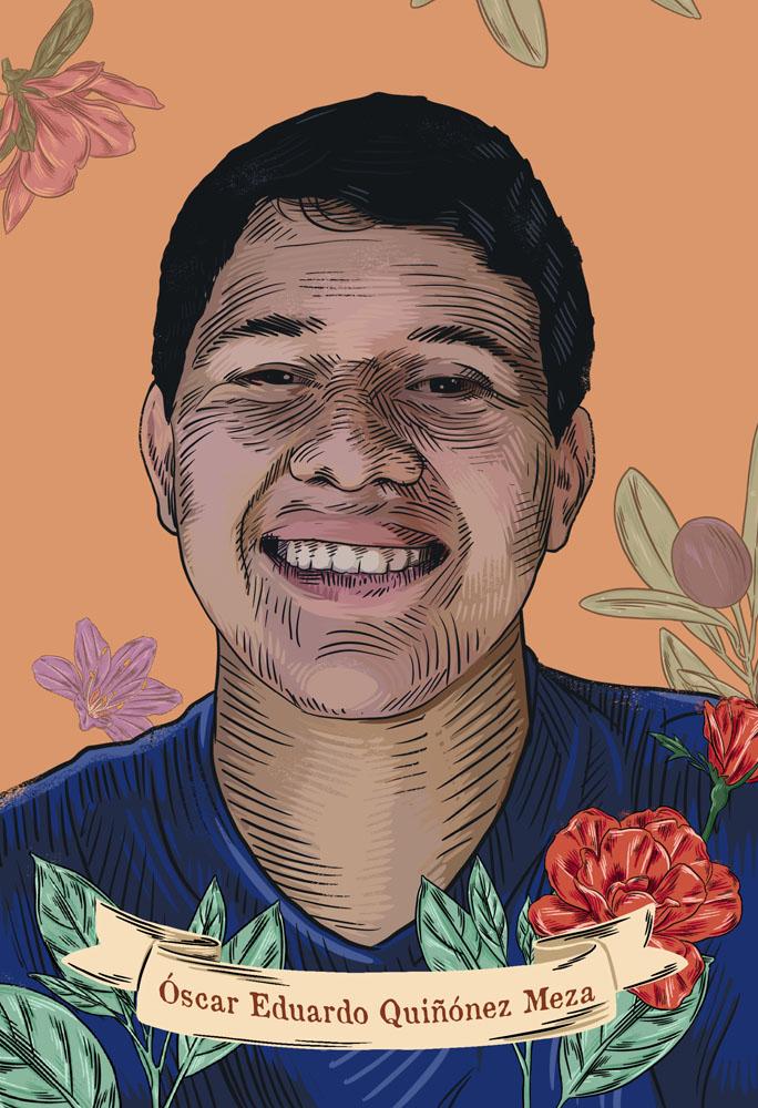 Oscar Eduardo Quiñonez desaparecido